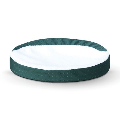 Ultra Memory Oval Cuddle Nest Color: Green