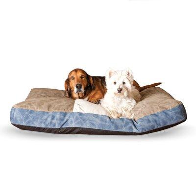Genuine Logo Classic Dog Bed Size: 4 H x 38  W x  28  D