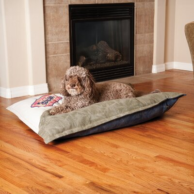 Premium Logo Single-Seam Dog Pillow Size: 3.5 H x 44  W x  35  D
