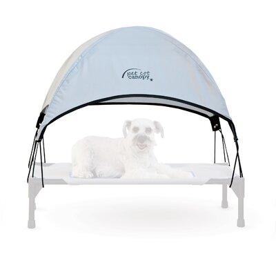 Pet Cot Canopy Size: Medium (25 H x 32 W), Color: Gray