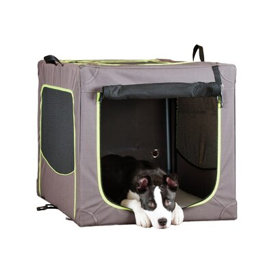 Classy Go Soft Pet Crate Size: Large (22.83 H x 24.02 W x 35.83 L)