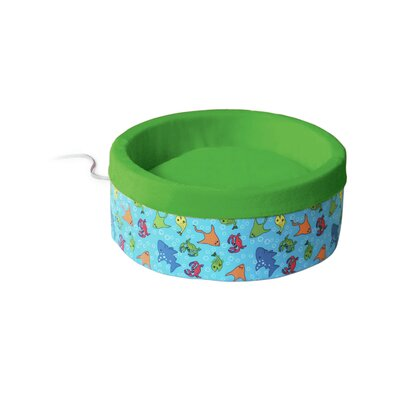 K&H Manufacturing Thermo-Kitty Nest Dog Bed - Color: Lime Green, Size: Large (20