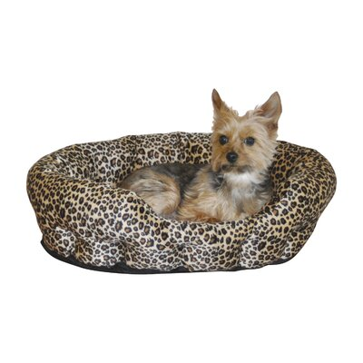 Self Warming Nuzzle Nest Dog Bed Color: Brown