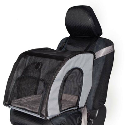 Travel Safety Pet Carrier Size: Small (15 H x 16 W x 17 L)