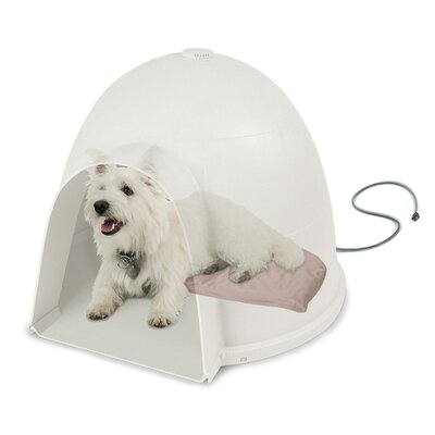 Lectro-Soft Igloo Dog Bed Size: Small (18 L x 11.5 W)