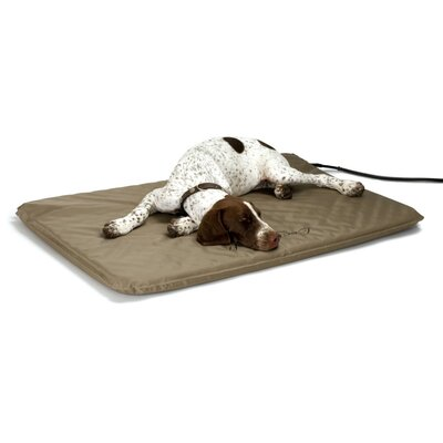 Lectro-Soft� Heated Dog Pad with Cover Size: Large (36 L x 25 W)