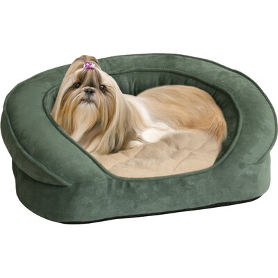 K&H Manufacturing Deluxe Ortho Sleeper Bolster Dog Bed - Size: Small (20