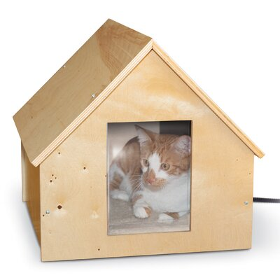 Manor Birchwood Thermo Kitty House (Heated)