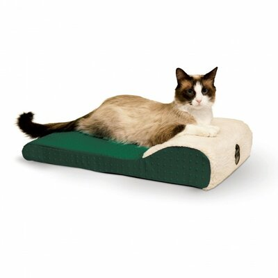 Ultra Memory Chaise Lounger Color: Green