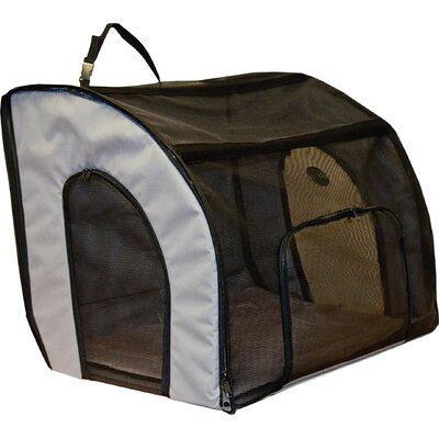 Travel Safety Pet Carrier Size: Medium (17 H x 19 W x 24 L)