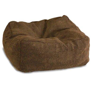 Cuddle Cube Dog Pillow Size: Small (18 L x 18 W), Color: Mocha
