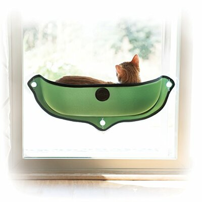 EZ Mount Window Bed Color: Green