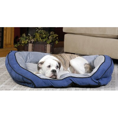 Couch Bolster Dog Bed Size: Large (40 L x 28 W ), Color: Mocha / Tan