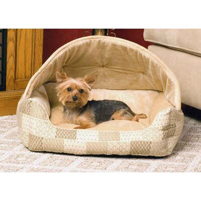 Lounge Sleeper Dog Hooded Color: Tan