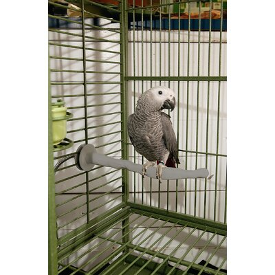 Heated Bird Perch Size: Large (2 x 14.5)