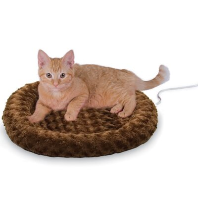 Heated-Kitty Fashion Splash Bed Color: Mocha