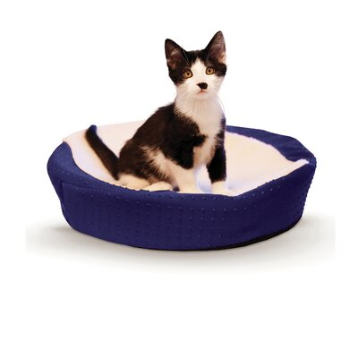 Ultra Memory Round Cuddle Nest Color: Blue