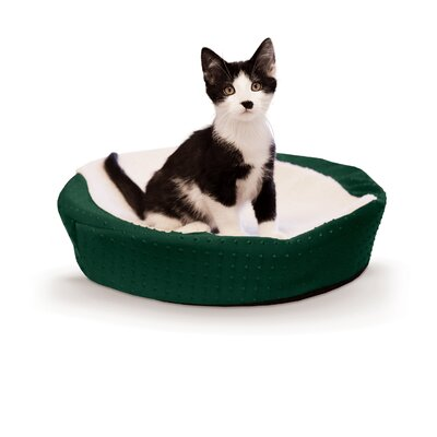Ultra Memory Round Cuddle Nest Color: Green