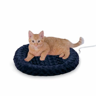 Heated-Kitty Fashion Splash Bed Color: Blue