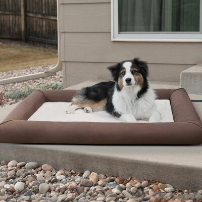 Deluxe Lectro-Soft Outdoor Heated Pet Pad Size: Medium (30.5 W x 26.5 D x 3.5 H