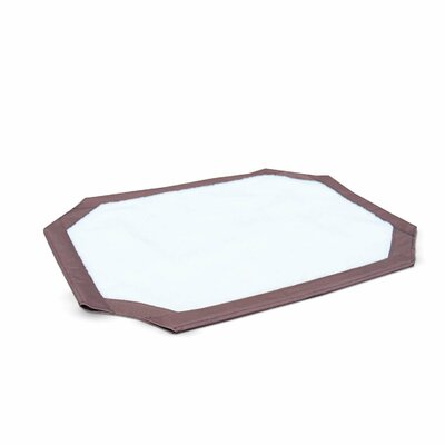 Self-Warming Pet Cot Cover Size: Large (42 W x 42 L)