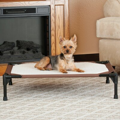 Self-Warming Pet Cot Size: Medium (32 W x 25 D x 7 H)