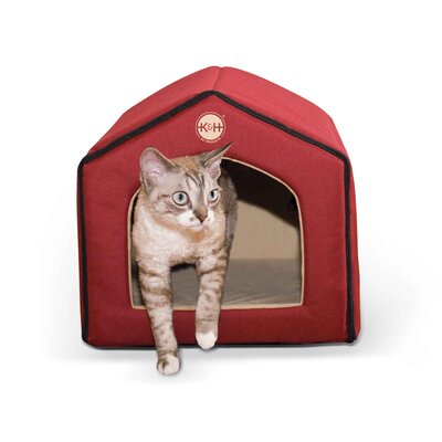 Heated Indoor Cat House