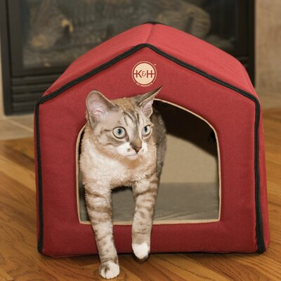 Unheated Indoor Cat House