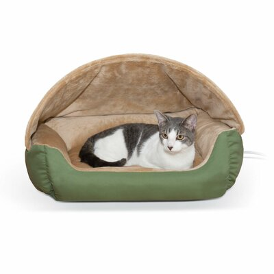 Thermo-Hooded Pet Bed