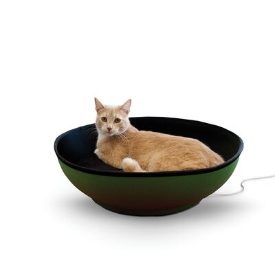 Thermo-Mod Half-Pod Pet Bed Color: Black