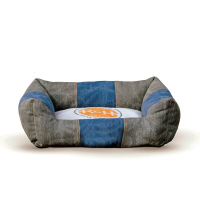 Vintage Lounger Pet Bed Original Logo Bolster