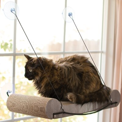 EZ Mount Scratcher Kitty Sill Elevated