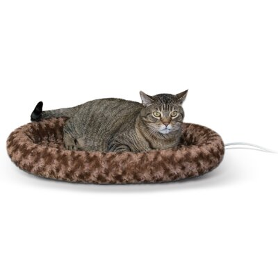 Thermo Kitty Bolster Color: Brown