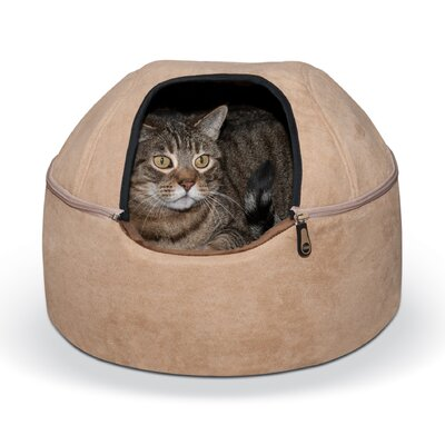 Kitty Hooded/Dome Bed Size: Small - 16 L x 16 W