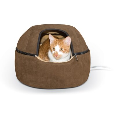 Thermo-Kitty Hooded/Dome Bed Size: Small - 16 L x 16 W
