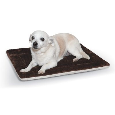 Self-Warming Pet Pad Color: Brown