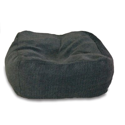 Cuddle Cube Dog Pillow Size: Large (32 L x 32 W), Color: Gray