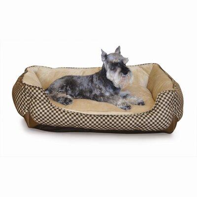 Self Warming Lounge Sleeper Bolster Dog Bed Size: Large (40