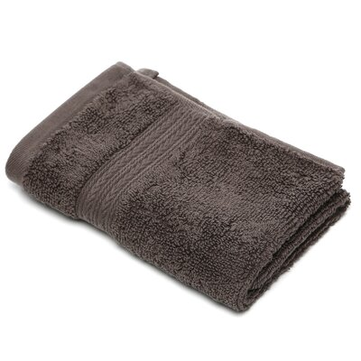 Bliss Egyptian Quality Cotton Luxury Wash Cloth Color: Charcoal