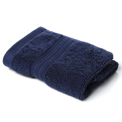 Bliss Egyptian Quality Cotton Luxury Wash Cloth Color: Navy