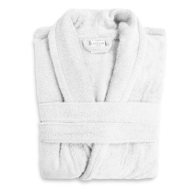 Anini Rayon from Bamboo and Cotton Spa Bath Robe Color: White