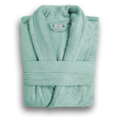 Anini Rayon from Bamboo and Cotton Spa Bath Robe Color: Rain