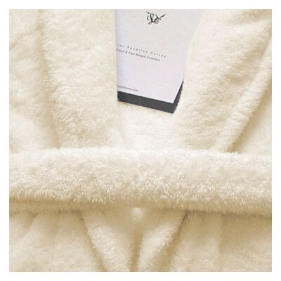 5th Avenue Bath Robe Color: Ivory