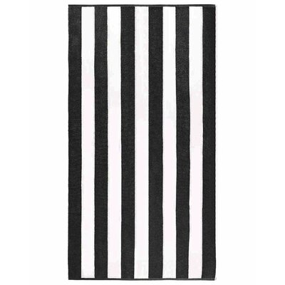 Anatalya Resort Beach Towel Color: Black