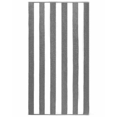 Anatalya Resort Beach Towel Color: Gray