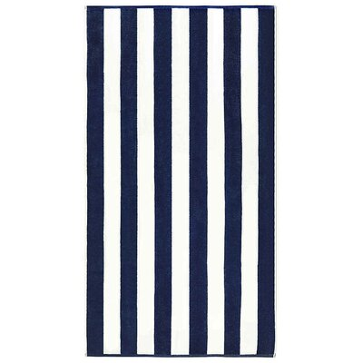 Anatalya Resort Beach Towel Color: Navy