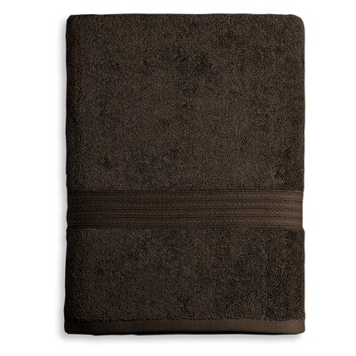 Bliss Egyptian Quality Cotton Luxury Hand Towel Color: Chocolate