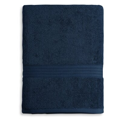 Bliss Egyptian Quality Cotton Luxury Bath Towel Color: Navy