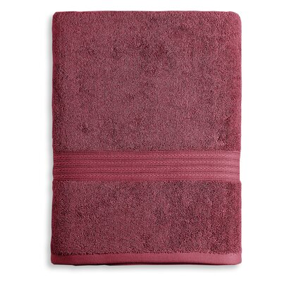 Bliss Egyptian Quality Cotton Luxury Bath Towel Color: Garnet Red
