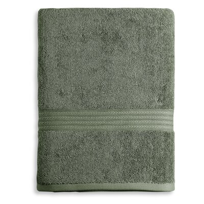 Bliss Egyptian Quality Cotton Luxury Bath Towel Color: Moss